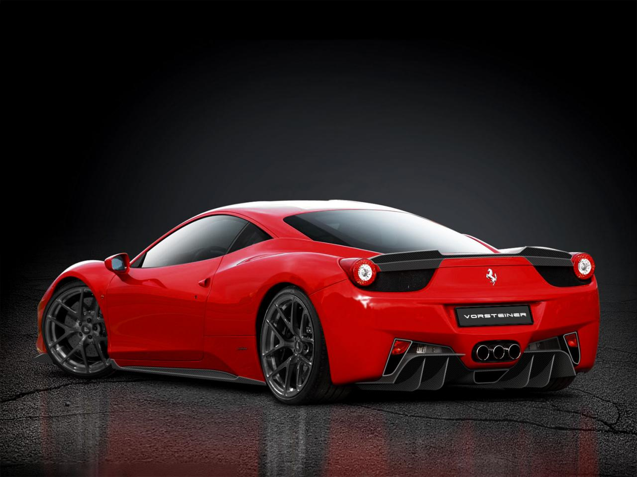 Ferrari 458 14 Widescreen Car Wallpaper