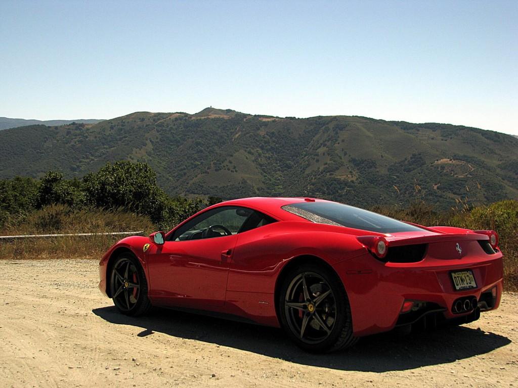 Ferrari 458 18 Widescreen Wallpaper