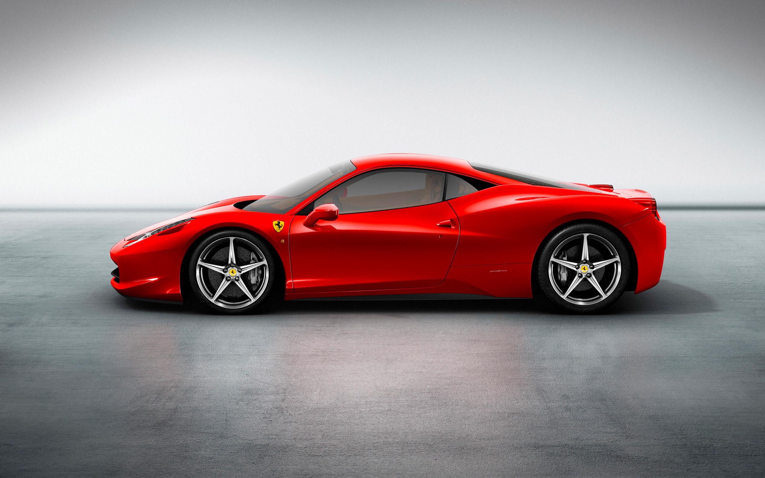 Ferrari 458 4 Free Hd Wallpaper