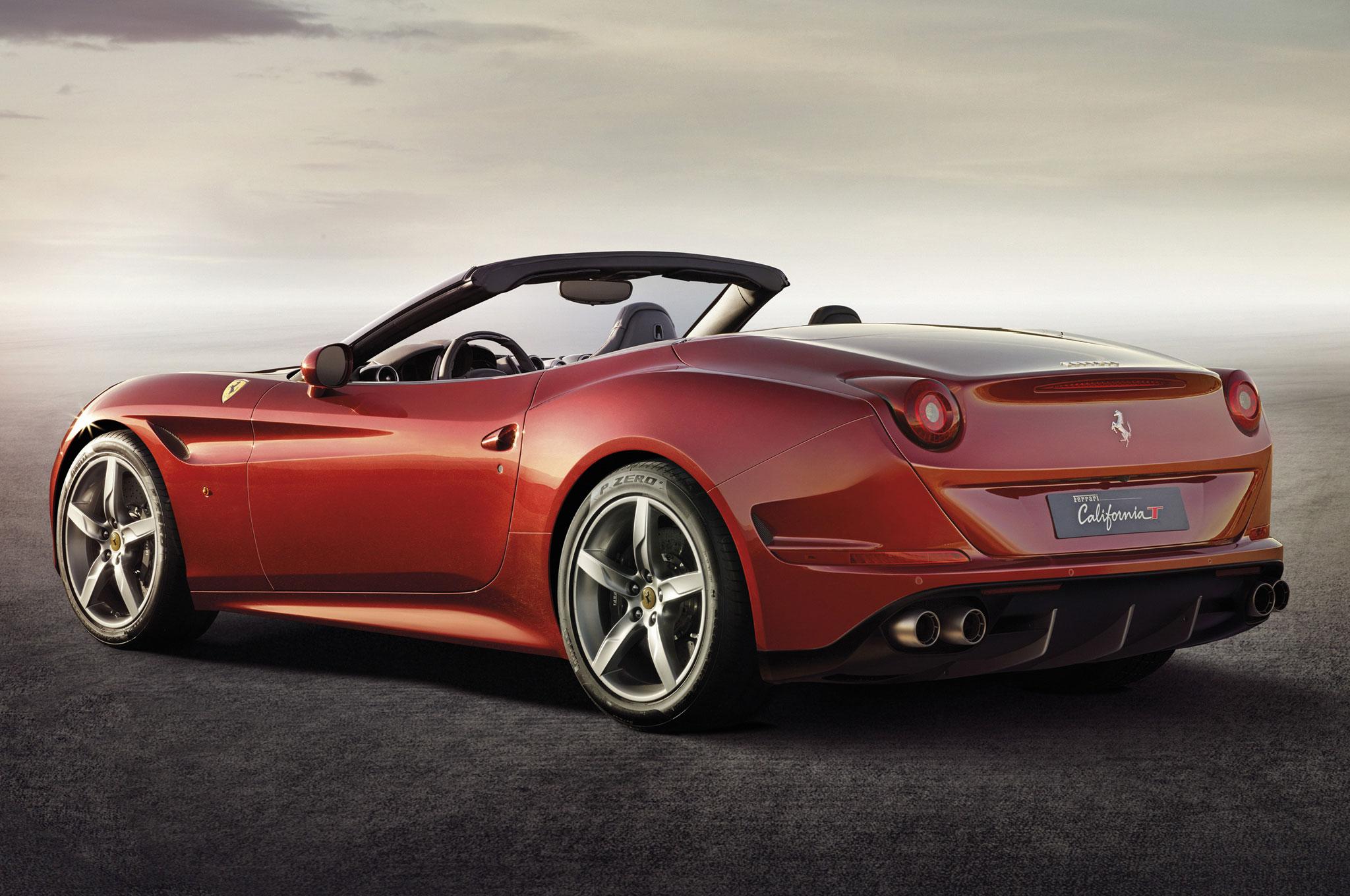 Ferrari California 11 Car Desktop Background