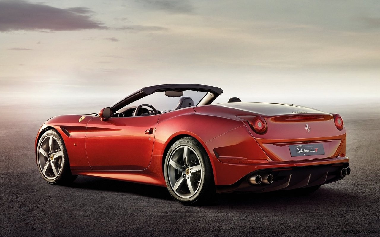 Ferrari California 33 Car Desktop Background