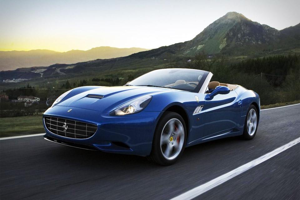 Ferrari California 9 Widescreen Wallpaper