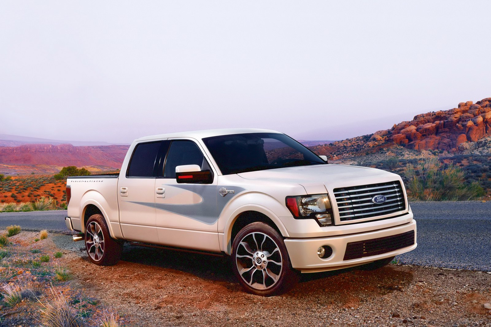Ford F-150 14 Car Background Wallpaper
