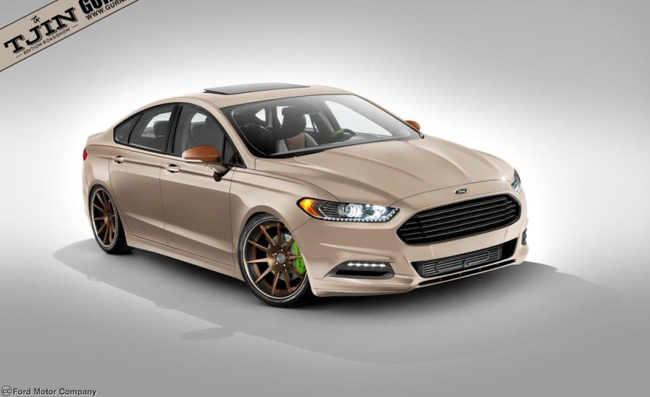Ford Fusion 4 High Resolution Car Wallpaper