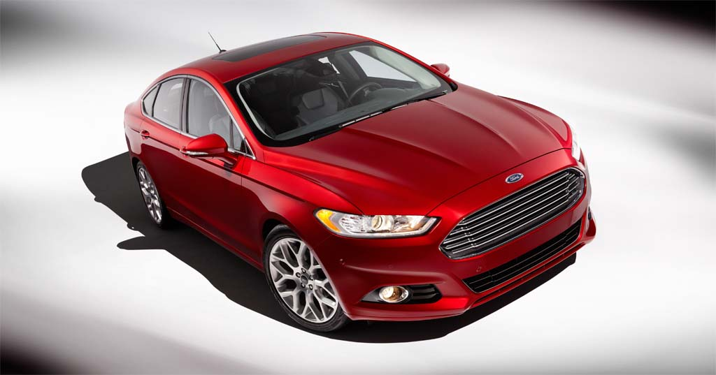 Ford Fusion 6 Background