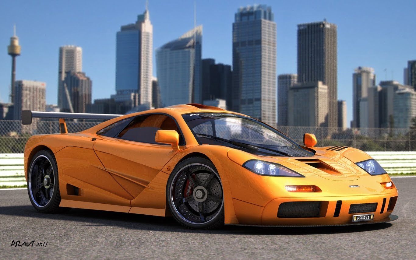 Mclaren F1 38 Car Desktop Wallpaper