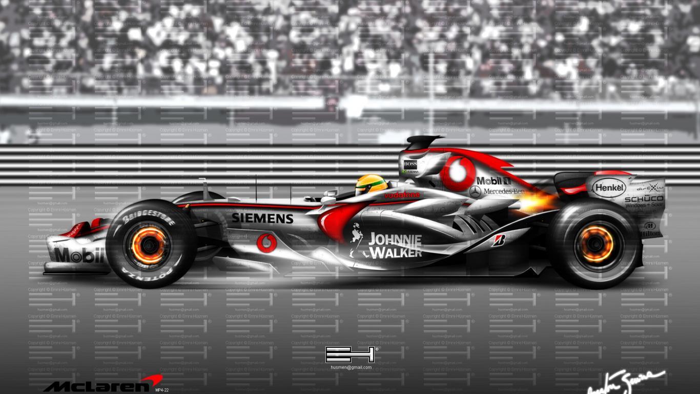Mclaren F1 7 Background Wallpaper Car Hd Wallpaper