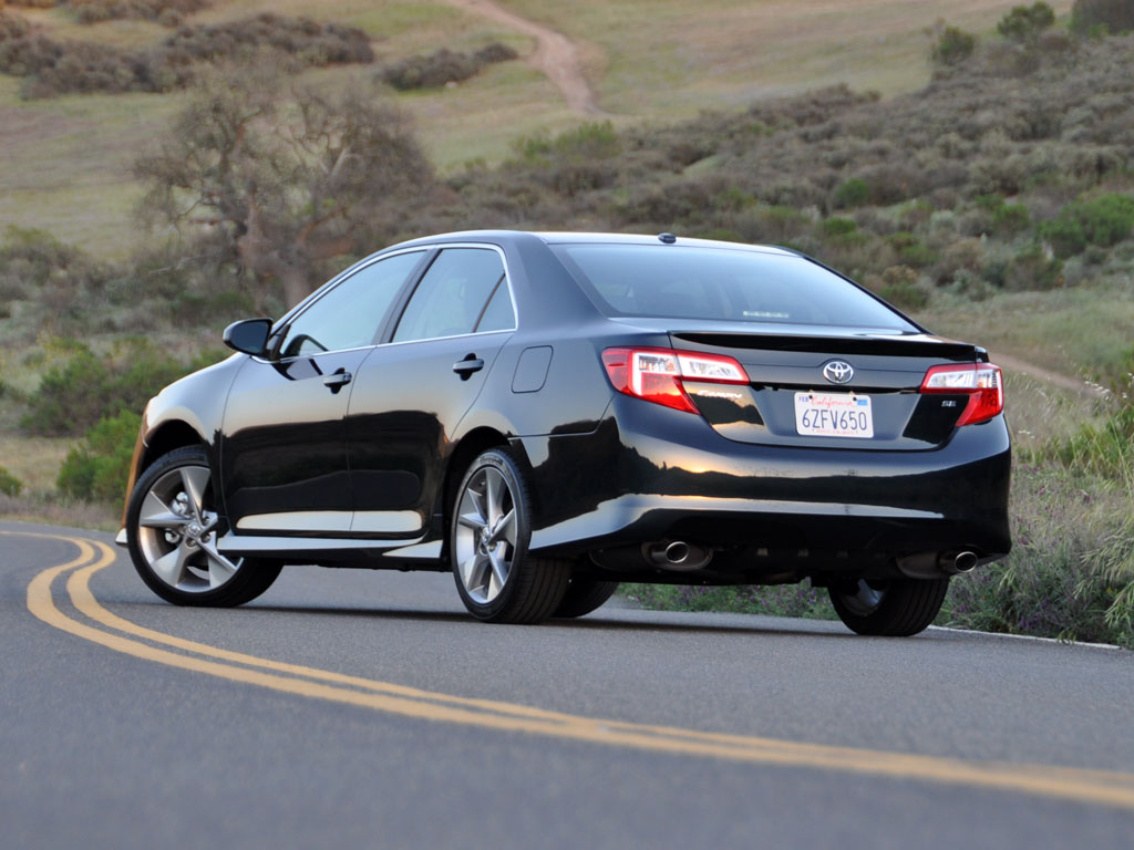 Toyota 2013 Camry 45 Car Background