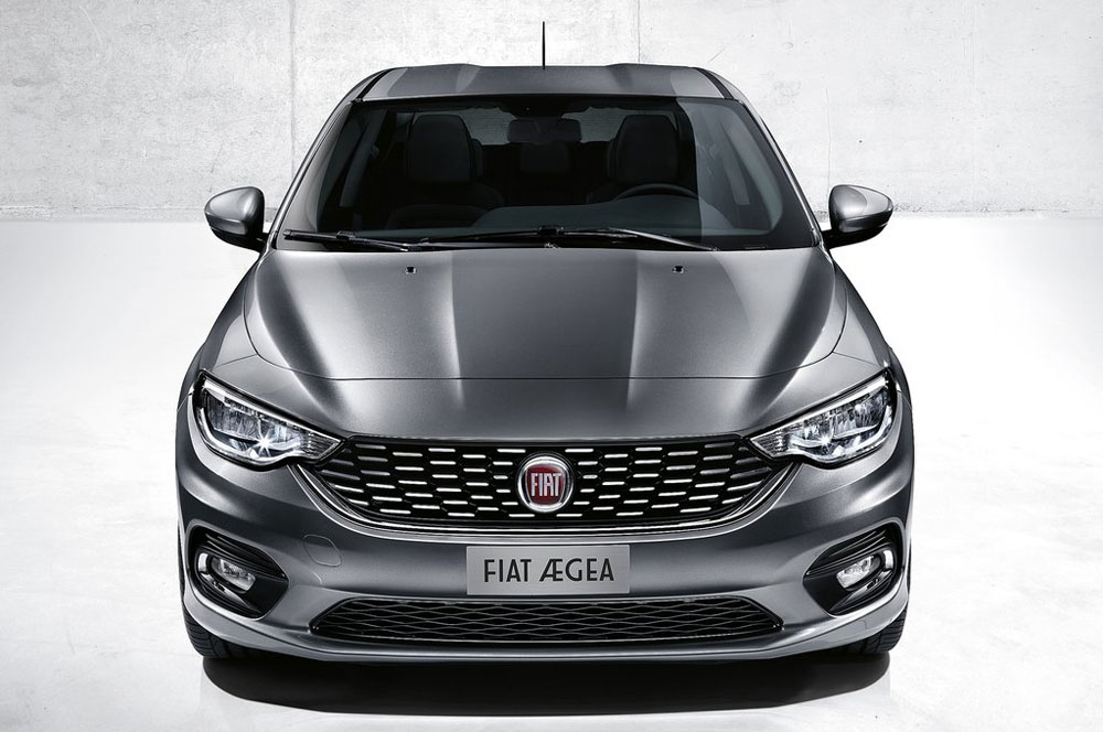 2016 Fiat Model 34 Car Background Wallpaper
