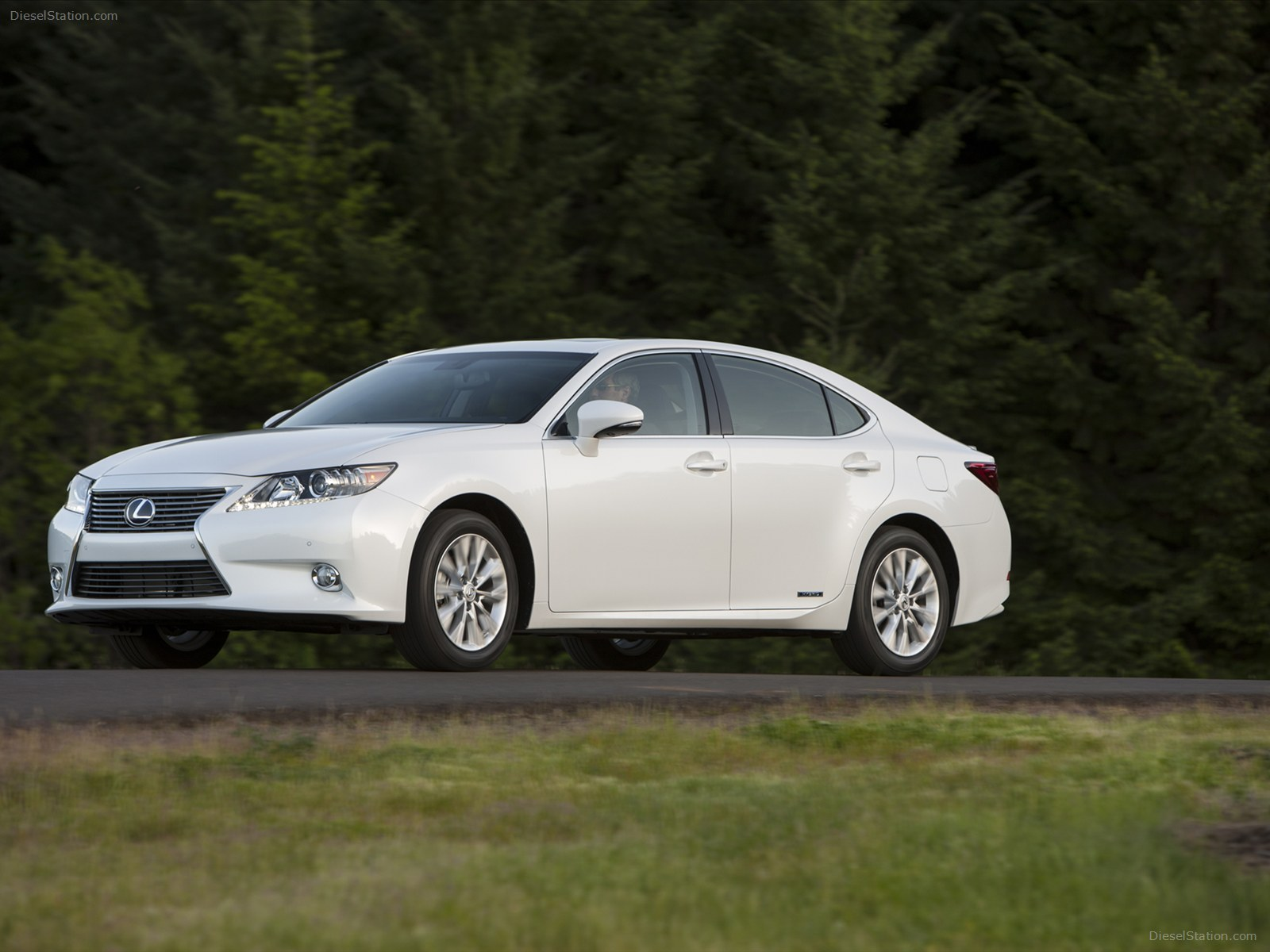 Lexus Es Hybrid 15 Car Desktop Wallpaper