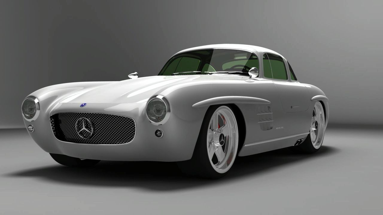 Mercedes-Benz 300Sl 14 Widescreen Wallpaper
