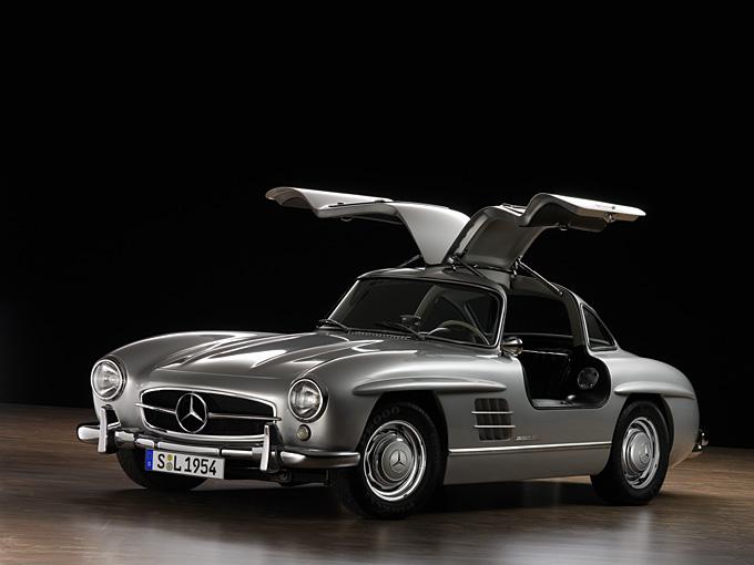 Mercedes-Benz 300Sl 23 Car Background