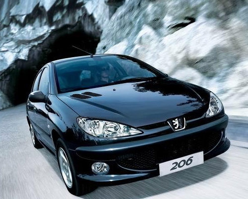 Peugeot 206 Model 8 Background