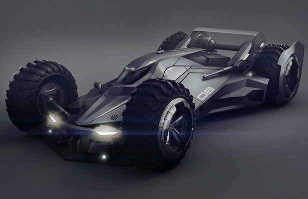 Batmobile 11 Car Desktop Background
