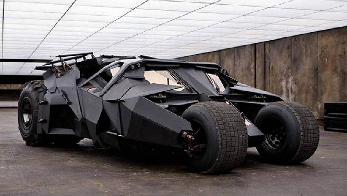 Batmobile 15 Background Wallpaper