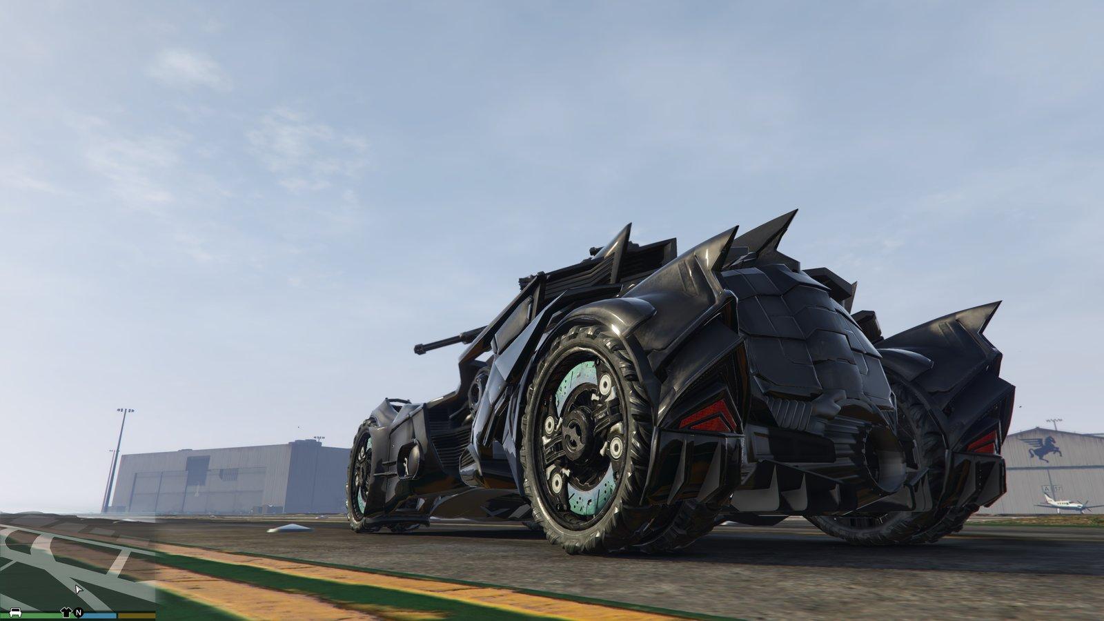 Batmobile 24 Widescreen Car Wallpaper