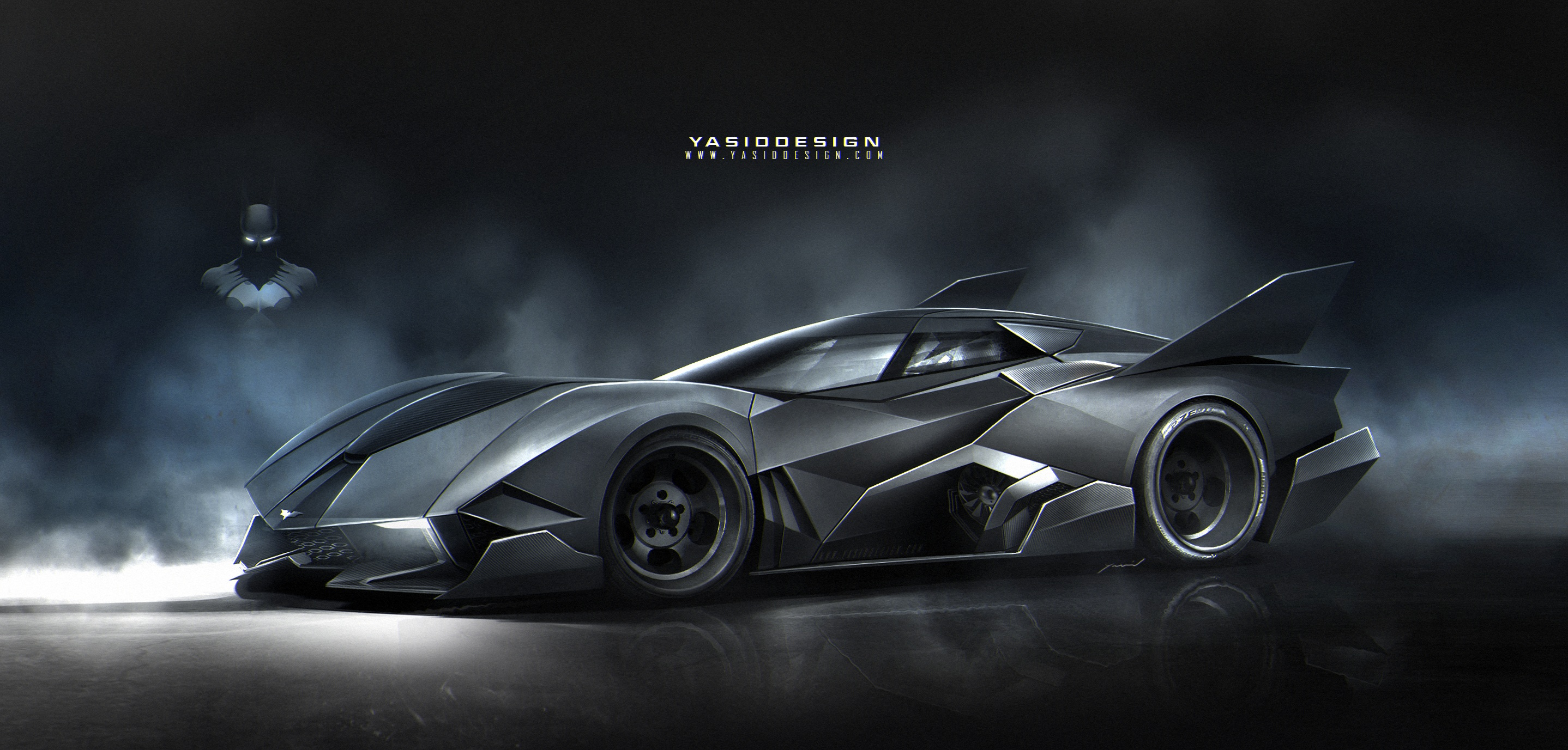 Batmobile 27 Desktop Background