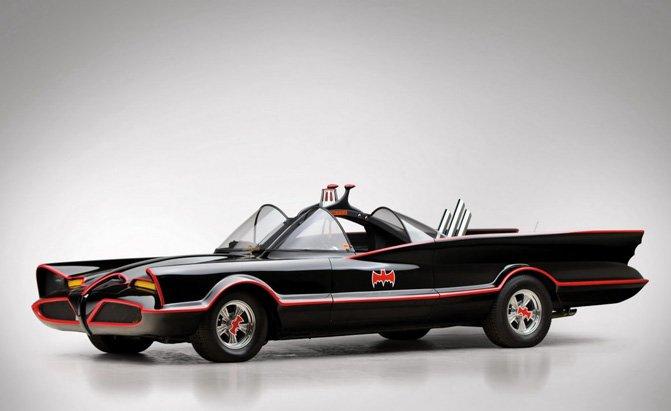 Batmobile 31 Widescreen Car Wallpaper