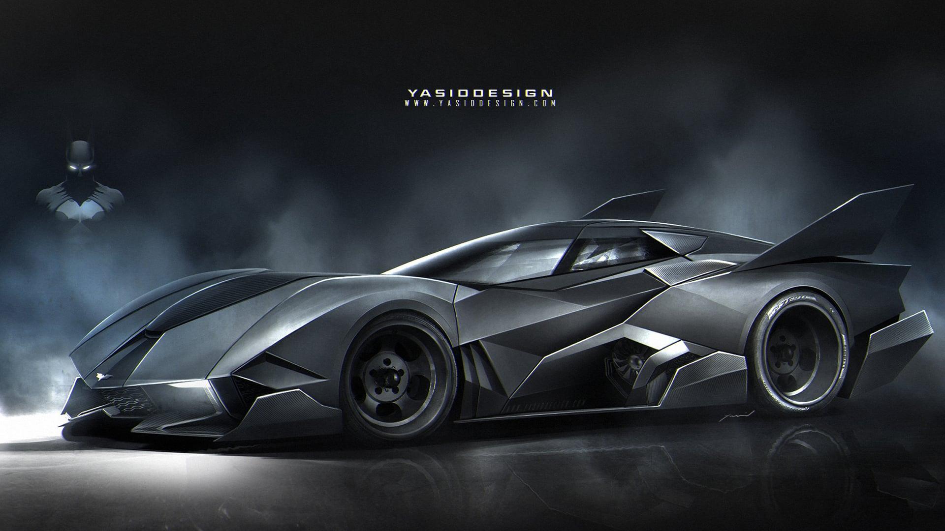 Batmobile 38 High Resolution Wallpaper