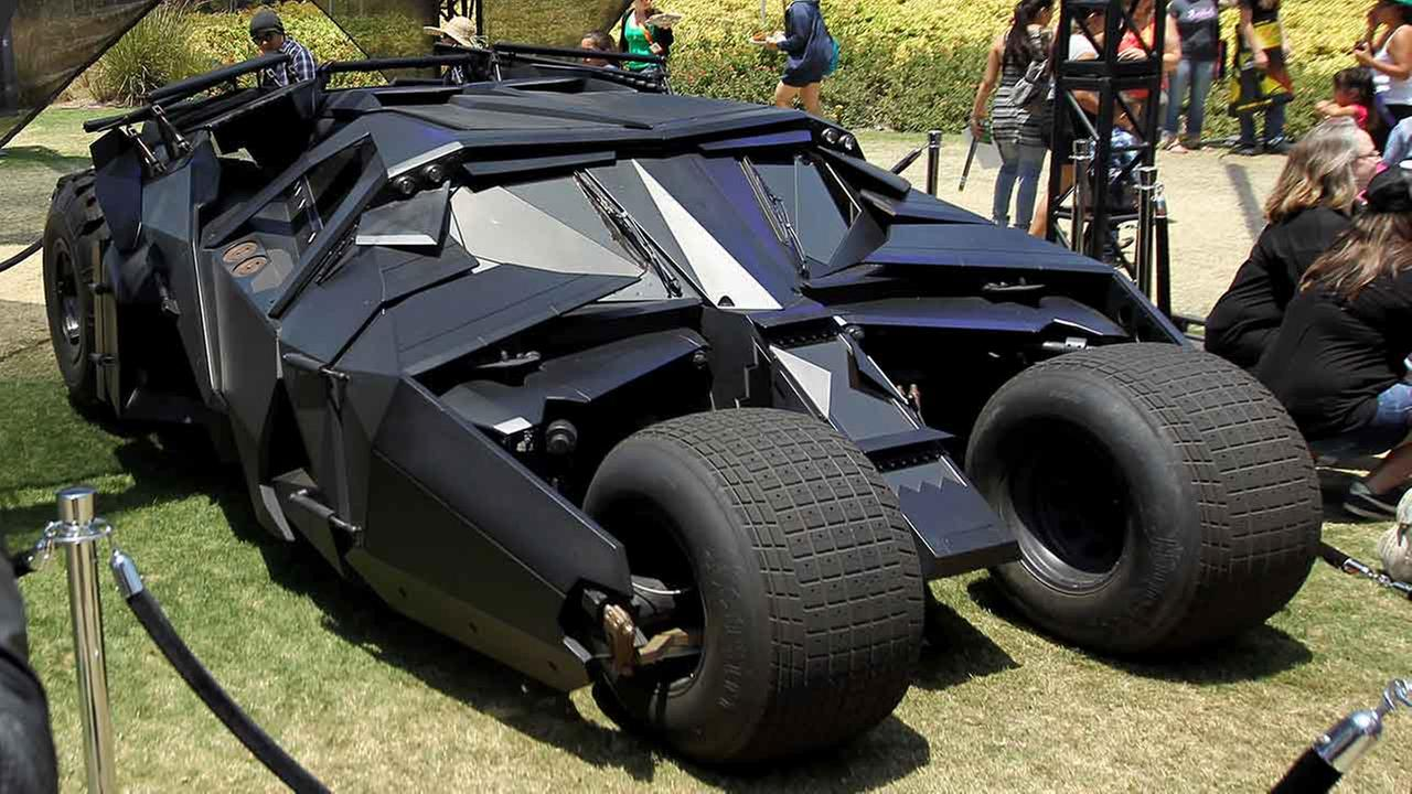 Batmobile 6 High Resolution Car Wallpaper